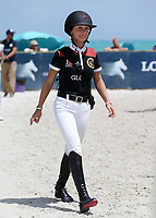www.acepixs.com<br /> <br /> April 15 2017, Miami<br /> <br /> Georgina Bloomberg competes at the Longines Global Champions Tour stop in Miami Beach - Global Champions League Final  on April 15, 2017 in Miami Beach, Florida.<br /> <br /> By Line: Solar/ACE Pictures<br /> <br /> ACE Pictures Inc<br /> Tel: 6467670430<br /> Email: info@acepixs.com<br /> www.acepixs.com
