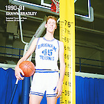 Bradley measure<br /> <br /> 45 Shawn Bradley<br /> <br /> Photo by Mark A. Philbrick/BYU<br /> <br /> Copyright BYU Photo 2012<br /> All Rights Reserved<br /> photo@byu.edu  (801)422-7322