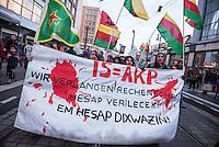2016/02/11 Berlin | Berlin | Politik | Kurden demonstrieren gegen Krieg in Kurdistan