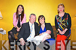 Pictured at the Christening of Baby Caoimhe Colbert on Sunday in the Devon Inn Hotel, Templelgantine were L-R : Claudette O'Carroll, Godmother, John and Deborah Colbert, Parents and Caroline Horgan.
