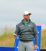 Keith Duffy during the final round  of the 2016 Aberdeen Asset Management Ladies Scottish Open played at Dundonald Links Ayrshire from 22nd to 24th July 2016:  Picture Stuart Adams, www.golftourimages.com: 22/07/2016