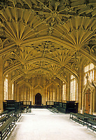 Oxford: Divinity School--Bodleian Library, 1480-83.