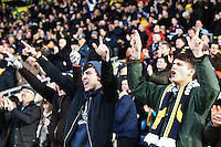 Oxford fans react at half time    during the Emirates FA Cup 3rd Round between Oxford United v Swansea     played at Kassam Stadium  on 10th January 2016 in Oxford