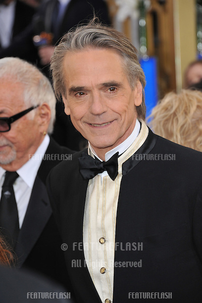 Jeremy Irons at the 70th Golden Globe Awards at the Beverly Hilton Hotel..January 13, 2013  Beverly Hills, CA.Picture: Paul Smith / Featureflash
