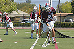 Orange, CA 05/01/10 - Thomas Holman (LMU # 3) and Nick Roessler (LMU # 31) in action during the LMU-Chapman MCLA SLC semi-final game in Wilson Field at Chapman University.  Chapman advanced to the final by defeating LMU 19-10.