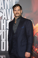 LOS ANGELES, CA - NOVEMBER 13: Henry Cavill at the Justice League film Premiere on November 13, 2017 at the Dolby Theatre in Los Angeles, California. Credit: Faye Sadou/MediaPunch