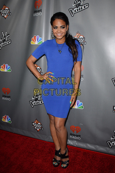Christina Milian.'The Voice' Season 4 premiere at House of Blues Sunset Strip, West  Hollywood, California, USA 8th May 2013.CAP/ADM/TW.©Tonya Wise/AdMedia/Capital Pictures