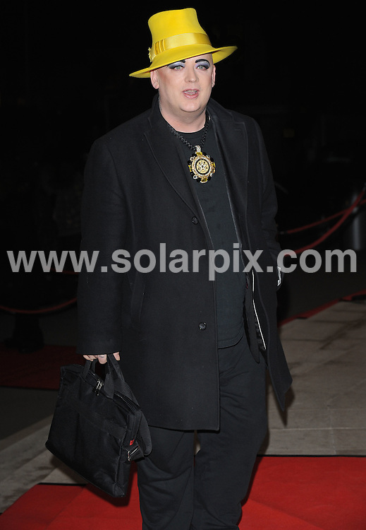 **ALL ROUND PICTURES FROM SOLARPIX.COM**.**WORLDWIDE SYNDICATION RIGHTS**.Arrivals at the World Premiere of AbbaWorld, Earls Court, London, UK. 26 January 2010...This pic: Boy George..JOB REF: 10553 SSD     DATE: 26_01_2010.**MUST CREDIT SOLARPIX.COM OR DOUBLE FEE WILL BE CHARGED**.**MUST NOTIFY SOLARPIX OF ONLINE USAGE**.**CALL US ON: +34 952 811 768 or LOW RATE FROM UK 0844 617 7637**