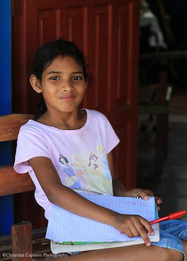 Schoolgirl in Nicaragua