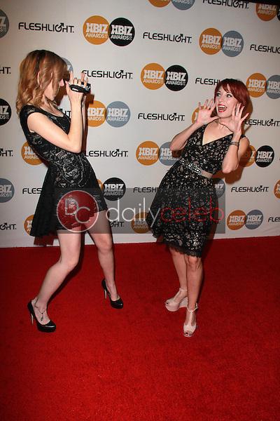 Chloe Dykstra, Meredith Placko<br /> at the 2015 XBIZ Awards, J.W. Marriott L.A. Live, Los Angeles, CA 01-15-15<br /> David Edwards/DailyCeleb.com 818-249-4998