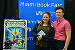 MIAMI, FL - JULY 21: Actor, singer and author Chris Colfer discusses and sign copies of his new books 'The Land of Stories: Worlds Collide' presented by Books and Books at Miami Dade College - Wolfson Campus: Chapman Conference Center on July 21, 2017 in Miami, Florida. ( Photo by Johnny Louis / jlnphotography.com )