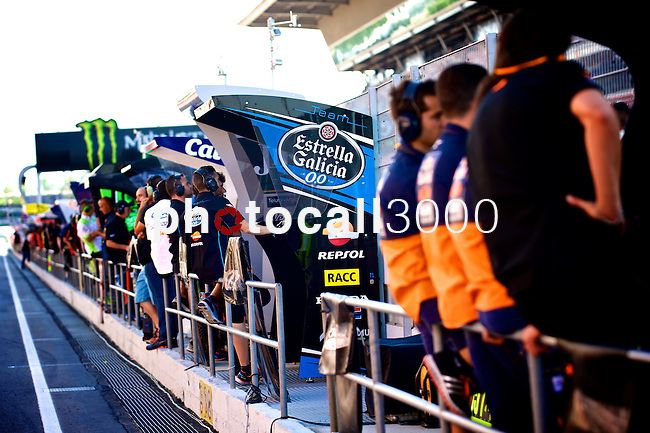 Gran Premi Monster de Catalunya in Montmeló Circuit<br /> 14/06/2014 <br /> moto3 free practices<br /> 