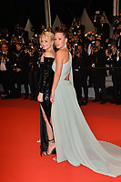 """CANNES, FRANCE. May 24, 2019: Adele Exarchopoulos & Virginie Efira at the gala premiere for """"Sybil"""" at the Festival de Cannes.<br /> Picture: Paul Smith / Featureflash"""