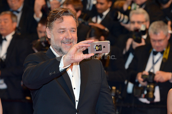 Russell Crowe at the &acute;The Nice Guys` screening during The 69th Annual Cannes Film Festival on May 15, 2016 in Cannes, France.<br /> CAP/LAF<br /> &copy;Lafitte/Capital Pictures /MediaPunch ***NORTH AND SOUTH AMERICA ONLY***