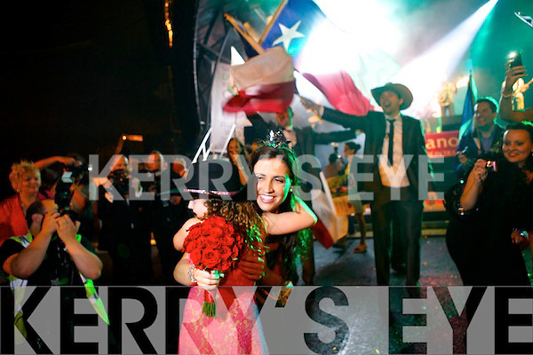 The newly crowned Rose of Tralee Haley O'Sullivan from Texas.