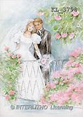 Interlitho, Emilia, WEDDING, paintings, couple, bridge, roses(KL3798,#W#)
