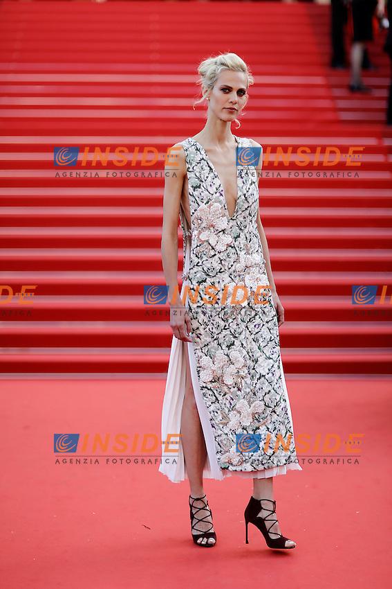 Aymeline Valade <br /> Cannes 20-05-2016 <br /> Festival del Cinema di Cannes 2016<br /> Foto Panoramic / Insidefoto