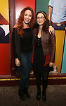 "Sierra Boggess and guest attends then Broadway Family invite to The Final Dress Rehearsal Of Harvey Fierstein's ""Torch Song"" on October 8, 2018 at the Hayes Theatre in New York City."