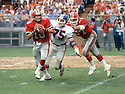 Atlanta Falcons Steve Bartkowski (10) during a game from his 1983 season with the Atlanta Falcons.  Steve Bartkowski played for 12 years with 2 different teams  and was a 2-time Pro Bowler.(SportPics)