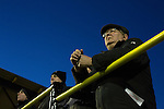 Alvechurch FC 3 Highgate United 0, 26/12/2016. Lye Meadow, Midland Football League Premier Division. Home supporters watching the action during the second-half at Lye Meadow as Alvechurch hosted Highgate United in a Midland Football League premier division match. Originally founded in 1929 and reformed in 1996 after going bust, the club has plans to move from their current historic ground to a new purpose-built stadium in time for the 2017-18 season. Alvechurch won this particular match by 3-0, watched by 178 spectators, taking them back to the top of the league. Photo by Colin McPherson.