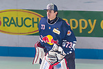 14.01.2018, Eisstadion Oberwiesenfeld, Muenchen, GER, DEL, EHC Red Bull Muenchen vs. Thomas Sabo Ice Tigers, im Bild USA nominiert David Leggio (Muenchen #73)  fuer Olympia.<br /> <br /> Foto &copy; nordphoto / Straubmeier