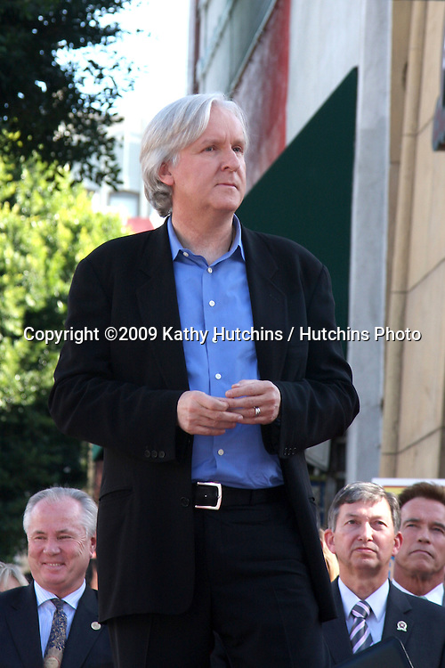 James Cameron. at the Hollywood Walk of Fame Ceremony for James Cameron.Egyptian Theater Sidewalk.Los Angeles,  CA.December 18, 2009.©2009 Kathy Hutchins / Hutchins Photo.