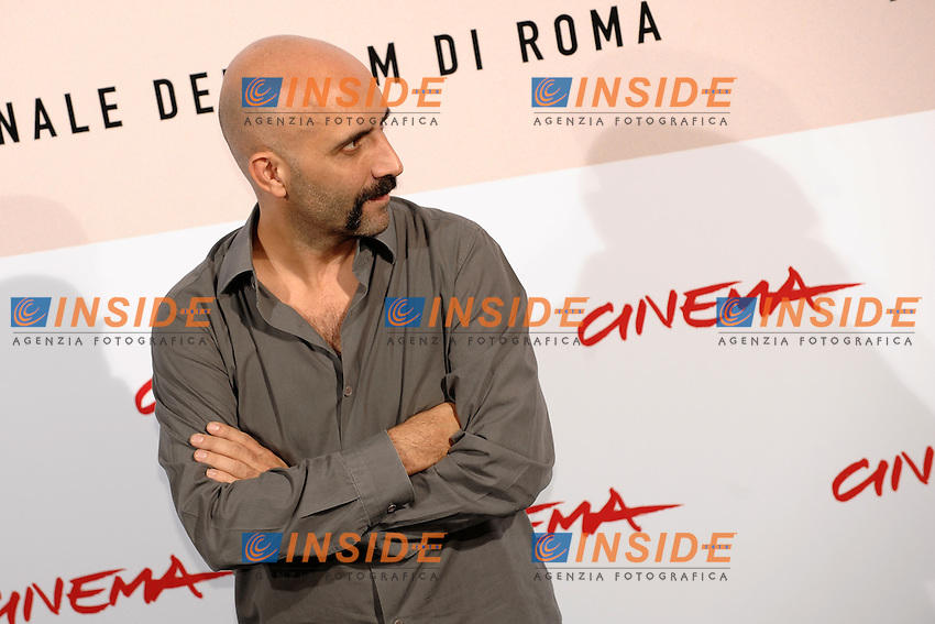Gaspar Noe'<br /> Third edition of the Rome International film festival<br /> Roma 23/10/2008 <br /> Photocall '8'<br /> Photo Andrea Staccioli Insidefoto