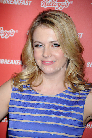 Melissa Joan Hart attends National Breakfast Day at Vanderbilt Hall at Grand Central Terminal on March 8, 2011 in New York City. Credit: Dennis Van Tine/MediaPunch