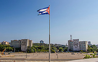 HAVANA, CUBA, 23.07.2015 –  Vista da praça da Revoluçăo em Havana, Cuba. (Foto: Paulo Lisboa/Brazil Photo Press)