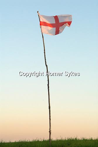 Flag of St George Wiltshire UK 2012
