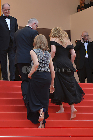 Julia Roberts without shoes at the &acute;Money Monster` screening during The 69th Annual Cannes Film Festival on May 12, 2016 in Cannes, France.<br /> CAP/LAF<br /> &copy;Lafitte/Capital Pictures /MediaPunch ***NORTH AMERICA AND SOUTH AMERICA ONLY***