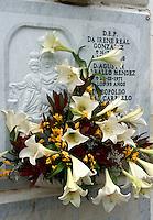 Spanien, Kanarische Inseln, Teneriffa, Cementerio de San Carlos in Puerto de la Cruz