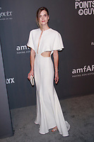 NEW YORK, NY - FEBRUARY 6: Mirte Maas arriving at the 21st annual amfAR Gala New York benefit for AIDS research during New York Fashion Week at Cipriani Wall Street in New York City on February 6, 2019. <br /> CAP/MPI99<br /> ©MPI99/Capital Pictures