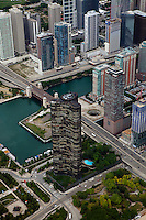 aerial photograph Lake Point Tower, Chicago, Illinois