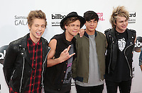 LAS VEGAS, NV - May 18 : 5 seconds of summer pictured at 2014 Billboard Music Awards at MGM Grand in Las Vegas, NV on May 18, 2014. ©EK/Starlitepics