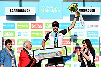 Picture by SWpix.com - 05/05/2018 - Cycling - 2018 Tour de Yorkshire - Stage 3: Richmond to Scarborough - Max Walscheid of Team Giant Sunweb wins Stage 3