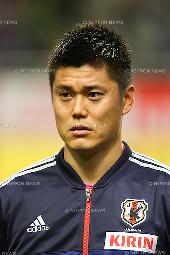 Eiji Kawashima (JPN), .FEBRUARY 6, 2013 - Football / Soccer : .KIRIN Challenge Cup 2013 Match between Japan 3-0 Latvia .at Home's Stadium Kobe in Hyogo, Japan. .(Photo by Akihiro Sugimoto/AFLO SPORT)