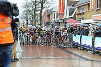 WIELRENNEN: SURHUISTERVEEN: 04-01-2017, Centrumcross, ©foto Martin de Jong