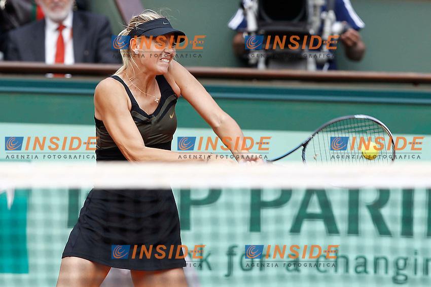 Maria Sharapova (RUS).Parigi 09/06/2012 Roland Garros.Tennis Grande Slam Finali..Foto Insidefoto / Gwendoline Le Goff / Panoramic..ITALY ONLY.