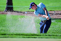 Matt Fitzpatrick (ENG) hits from the trap on 2 during round 3 of the Honda Classic, PGA National, Palm Beach Gardens, West Palm Beach, Florida, USA. 2/25/2017.<br /> Picture: Golffile | Ken Murray<br /> <br /> <br /> All photo usage must carry mandatory copyright credit (&copy; Golffile | Ken Murray)