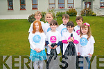Taking part in  a school clean-up at Coolick National School in Kilcummin to mark National Volunteering Week. .Front L-R Clodagh O'Connell, Lauren O'Mahony, Sarah O'Mahony and Brianne Morgan Shortt. .Back L-R Cian Murphy, Jean Foley, Cian Connor and James Kelliher.