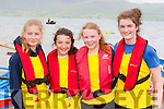 Callinafercy rowers Jessica Scott, Niamh O'Sullivan, Emma Houlihan and Anna Griffin at the Cromane Regatta on Sunday