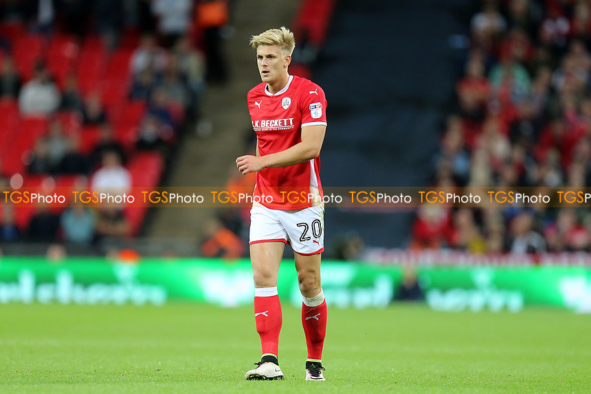 Brad Potts of Barnsley during Tottenham Hotspur vs Barnsley, Caraboa Cup Football at Wembley Stadium on 19th September 2017