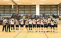 Schweigeminute für die verstorbene Spielerin der 1. Mannschaft - Crumstadt 02.12.2018: ESG Crumstadt/Goddelau vs. HSG Langen