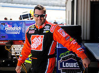 Sept. 19, 2008; Dover, DE, USA; Nascar Sprint Cup Series driver Tony Stewart during practice for the Camping World RV 400 at Dover International Speedway. Mandatory Credit: Mark J. Rebilas-