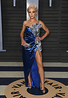 04 March 2018 - Los Angeles, California - Halsey. 2018 Vanity Fair Oscar Party hosted following the 90th Academy Awards held at the Wallis Annenberg Center for the Performing Arts. <br /> CAP/ADM/BT<br /> &copy;BT/ADM/Capital Pictures
