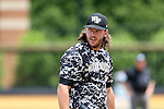 21 May 2016: Wake Forest's Will Craig. The Wake Forest University Demon Deacons played the University of Louisville Cardinals in an NCAA Division I Men's baseball game at David F. Couch Ballpark in Winston-Salem, North Carolina. Louisville won the game 9-4.