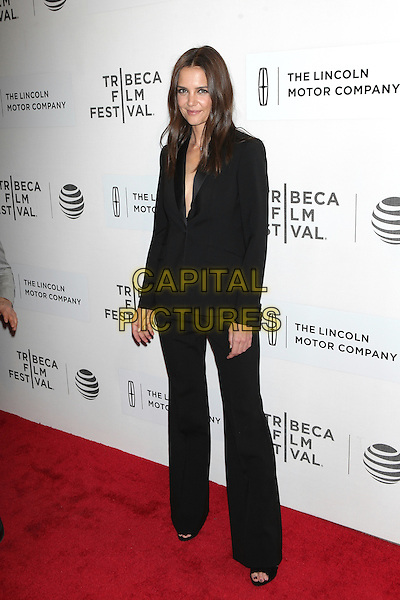 NEW YORK, NEW YORK - APRIL 15: Katie Holmes at the World Premiere of 'All We Had' during the 2016 Tribeca Film Festival at BMCC Theater on April 15, 2016 in New York City. <br /> CAP/MPI99<br /> &copy;MPI99/Capital Pictures