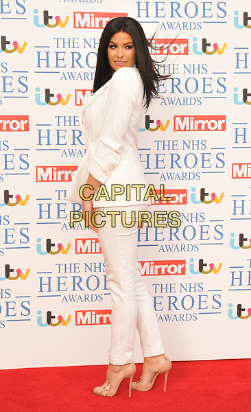 Jessica Wright at the NHS Heroes Awards 2018, London Hilton on Park Lane Hotel, Park Lane, London, England, UK, on Monday 14 May 2018.<br /> CAP/CAN<br /> &copy;CAN/Capital Pictures