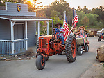 Tractor parade, Saturday at the 80th Amador County Fair, Plymouth, Calif.<br /> .<br /> .<br /> .<br /> .<br /> #AmadorCountyFair, #1SmallCountyFair, #PlymouthCalifornia, #TourAmador, #VisitAmador